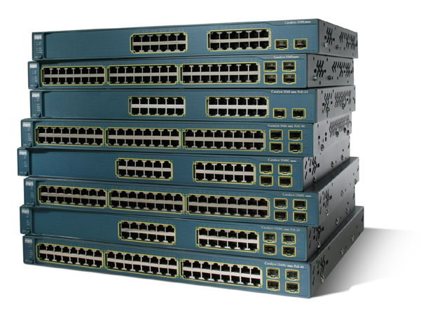 Cisco Switch Managed By Emend.  Emend offers Cisco programming, management and setup.